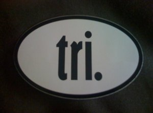 All ya gotta do is TRI!
